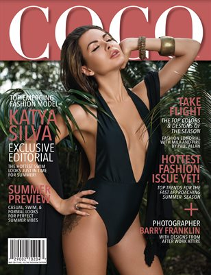 COCO Fashion Magazine MAY 2017 Featuring Katya Silva