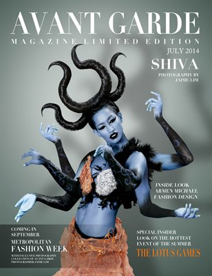 AVANT GARDE Magazine Limited Edition July Issue 2014
