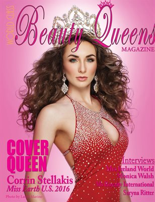 World Class Beauty Queens Magazine with Corrin Stellakis