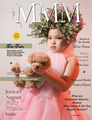 """Juniors Aug Monthly """"Furry Friends/Open"""" Issue"""