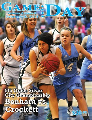 Volume 4 Issue 8 - Bonham vs Crockett 8th Silver City Championship