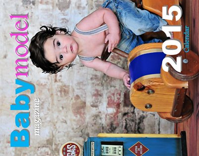 Baby Model Magazine 2015 calendar