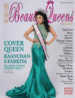 World Class Beauty Queens Magazine Issue 70 with Kaanchan S Farkiya