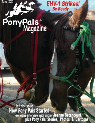 Pony Pals Magazine -- June 2011 --  Volume 1-1
