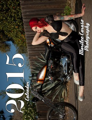 2015 Calendar - Pinups, Hot Rods & Bikes