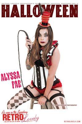 Halloween 2021 Vol.5 – Alyssa Fae Cover Poster