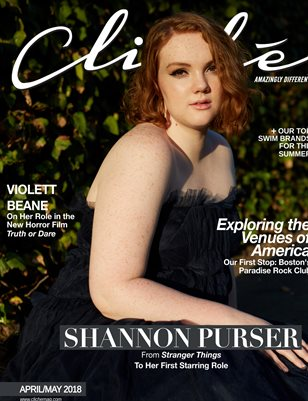 New PuCliché Magazine April/May 2018 (Shannon Purser)blication