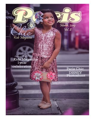 Paris Chic Kids Magazine March 2