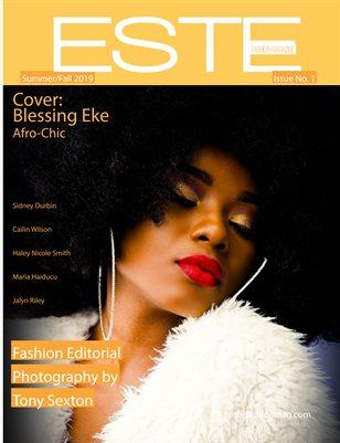 Este Fashion Magazine Issue 1 Blessing Eke Cover