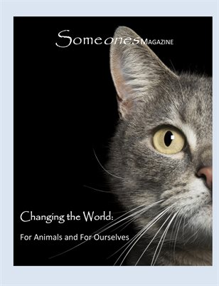 Someones Magazine: Changing the World (alt cover)