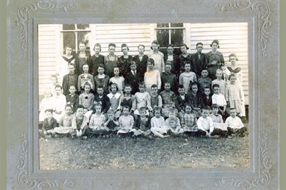 HALE SPRINGS SCHOOL, MARSHALL COUNTY, KENTUCKY