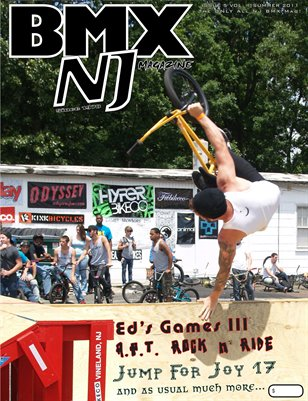 BMXNJ Magazine Issue 5 Summer-Fall 2011