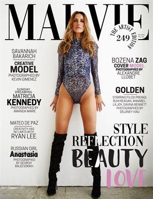 MALVIE Magazine The Artist Edition Vol 249 July 2021