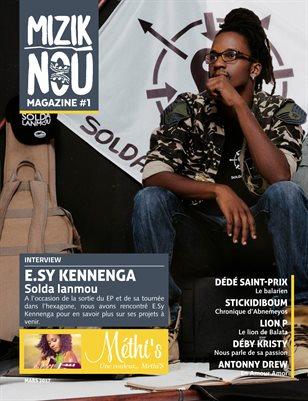 #1 Mizik Nou Magazine - Mars 2017