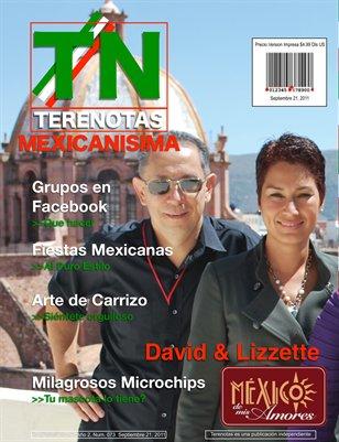 David y Lizzette... Mexico de mis amores