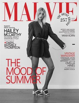MALVIE Magazine The Artist Edition Vol 257 July 2021