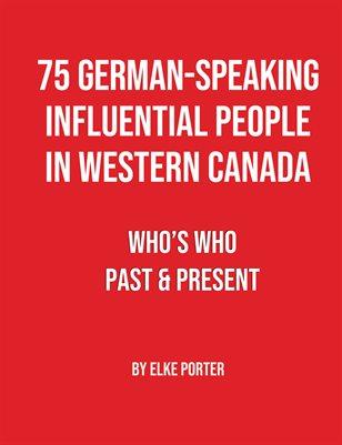 75 German-Speaking Influential People