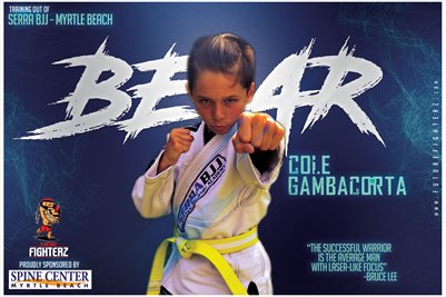 Cole Gambacorta Blue Scream Poster