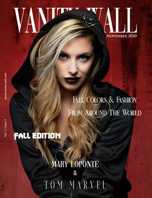 Vanity Wall Magazine | COVER 1 | FALL EDITION | NOV 2020 | Vol. i Issue 7