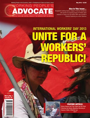 Unite for a Workers' Republic!