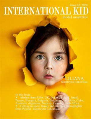 International Kid Model Magazine Issue #62