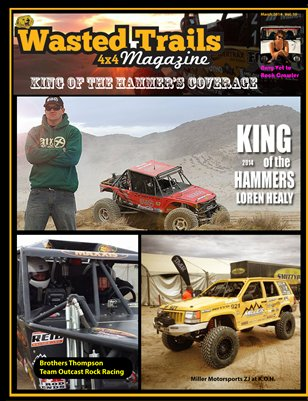 Wasted Trails 4x4 magazine  March 2014 Vol. 10