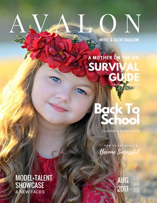 Avalon Model + Talent Magazine | August 2017