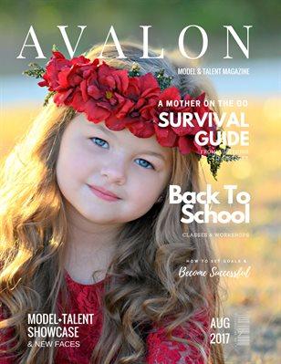 Avalon Model + Talent Magazine | August 2017