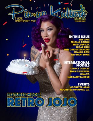 Pinup Kulture Magazine Volume 2, Issue 1
