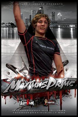Maximus Prime Grey Poster