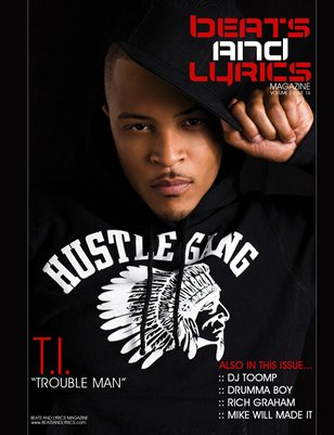 Beats And Lyrics Magazine Issue 16