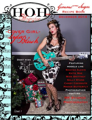 HOH Hell on Heels Magazine Issue 1 Gimme Some Sugar Recipe Book