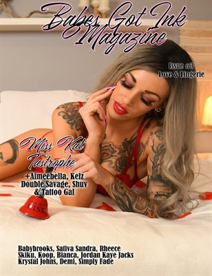 Babes Got Ink Issue #3 - Miss Kat Tastrophe