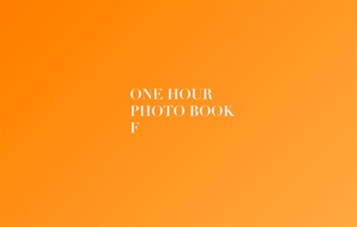 One Hour Photo Book F