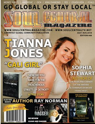 Soul Central Magazine #Edition #68 Cali Fae
