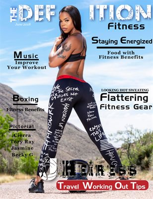 The Definition of Fitness: issue 1: Cover JHeiress