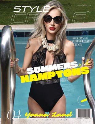 JULY 2021 Issue (Vol: 04) | STYLÉCRUZE - Swim Wear