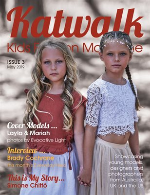 Katwalk Kids Fashion Magazine, Issue 3, May 2019