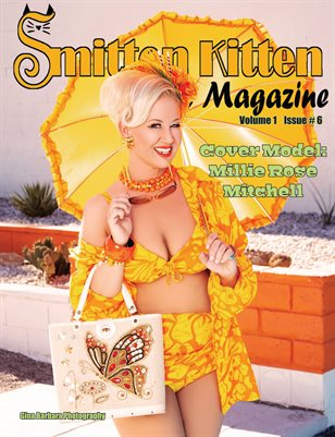 Smitten Kitten Pinup Magazine Cover 1 Millie Rose Mitchell June 2020 Issue