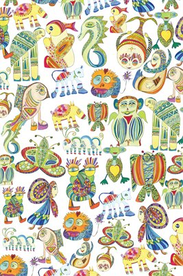 One Big Gigantic Herd of Invisible Cosmic Zebras Poster