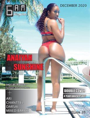6 A.M. Magazine Volume 26 (Anaiyah Sunshine))