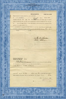 (PAGES 3-4) 1932 Deed, Albert Rufus Gibson to C.C. Wyatt, Graves County, Kentucky