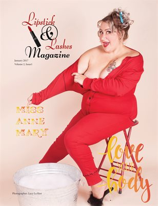 Lipstick and Lashes, January 2017 Volume 2 Issue 1