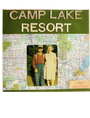 Camp Lake Resort Scrapbook