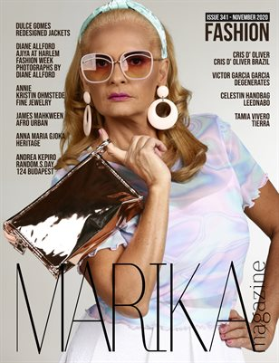 MARIKA MAGAZINE FASHION (ISSUE 341 - NOVEMBER)