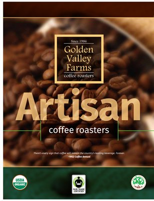Golden Valley Farms Coffee Roasters Digital Brochure