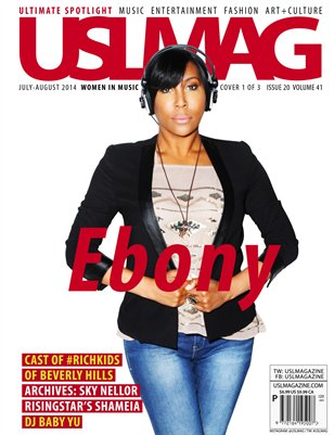 USL Magazine July-August Vol. 41 - Ebony Steele