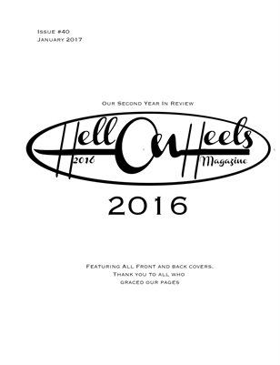 Hell on Heels Magazine 2016 Year in Review Issue #40