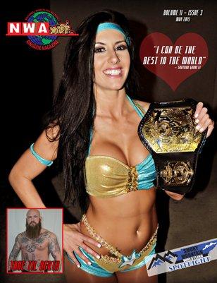 NWA Magazine #5 - Santana Garrett