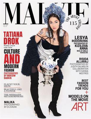 MALVIE Magazine The Artist Edition Vol 115 January 2021